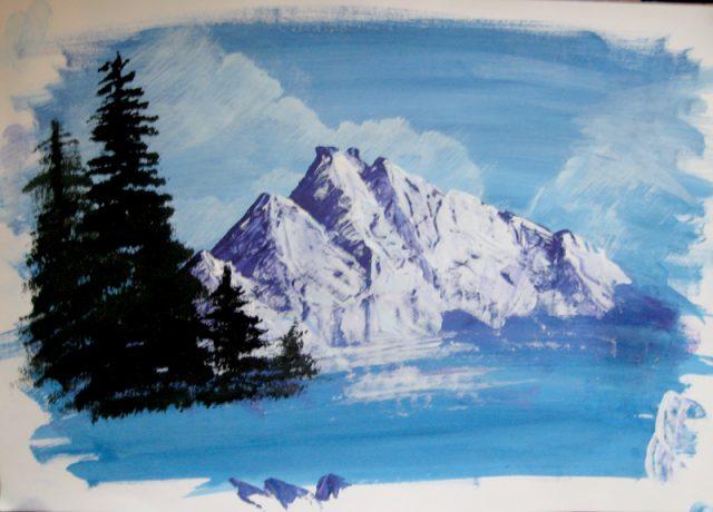 170 рисунков в жанре пейзаж
