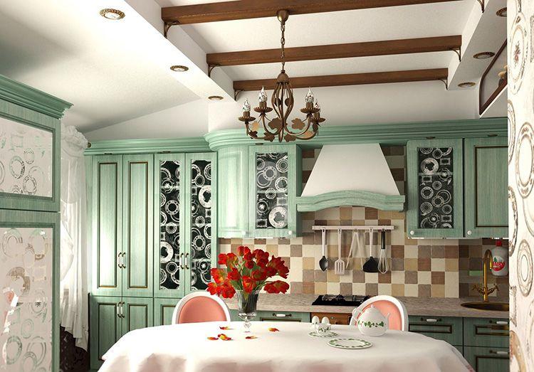 Стиль прованс. Дизайн в интерьере квартиры и дома. 250 фото