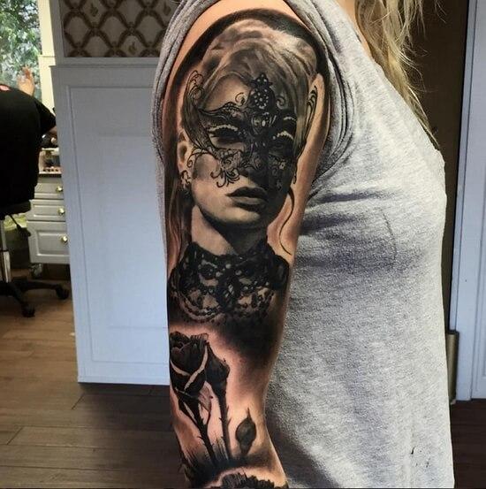 260 красивых эскизов женских татуировок на руку
