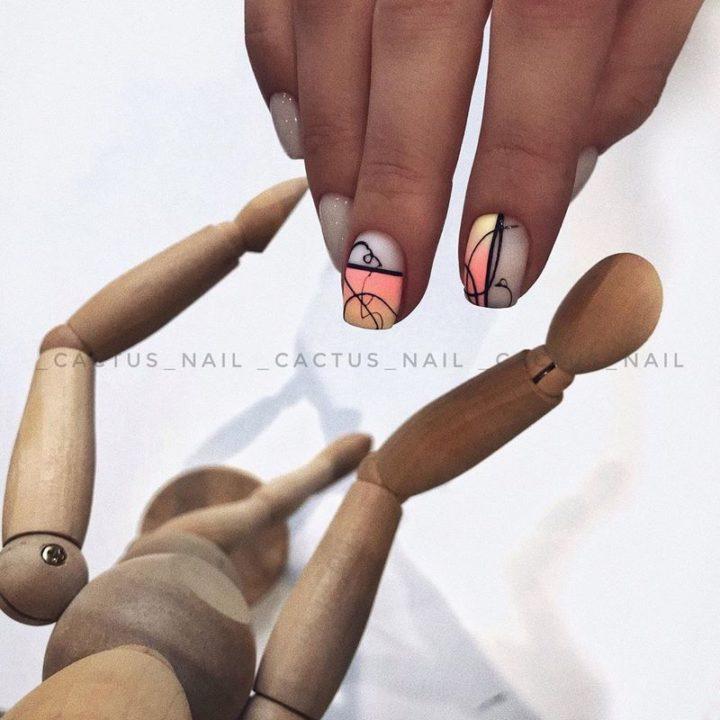 Дизайн маникюра на короткие ногти: 200 фото