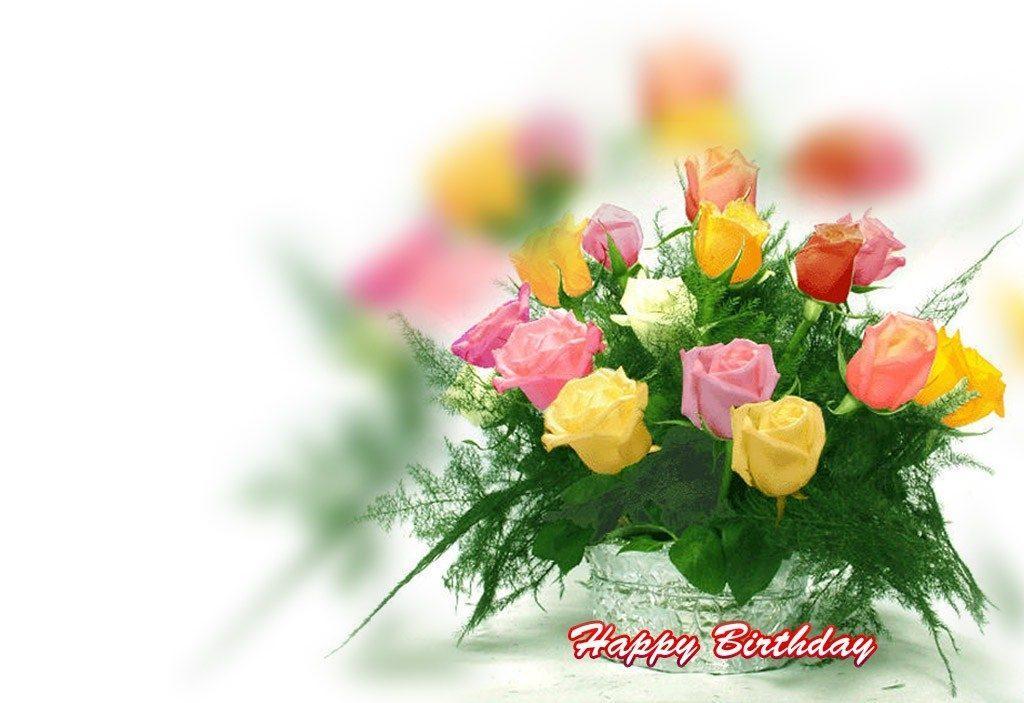 180 открыток на день рождения с букетами роз