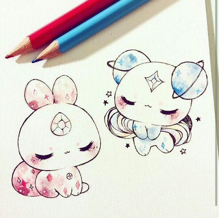 290 маленьких красивых картинок для срисовки карандашом и не только
