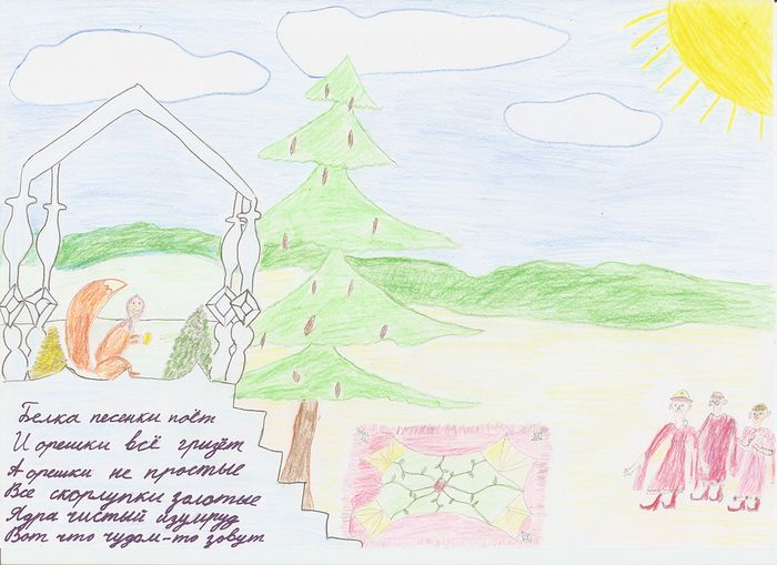 Рисунки и иллюстрации к сказке о царе Салтане