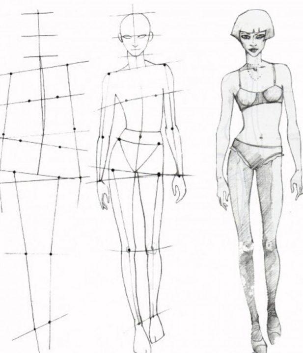 Как нарисовать человека в полный рост. 60 набросков