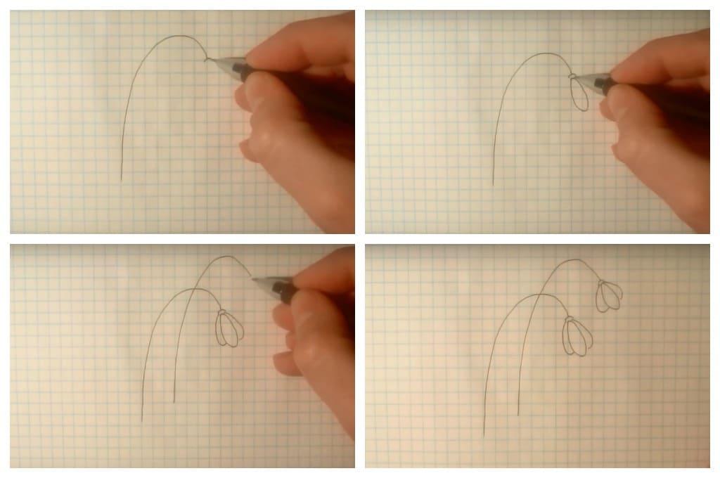 Как нарисовать цветы карандашом и не только. 80 рисунков для детей