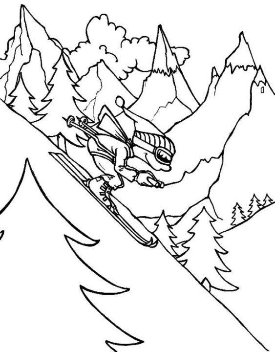 200 рисунков на тему спорта для детей
