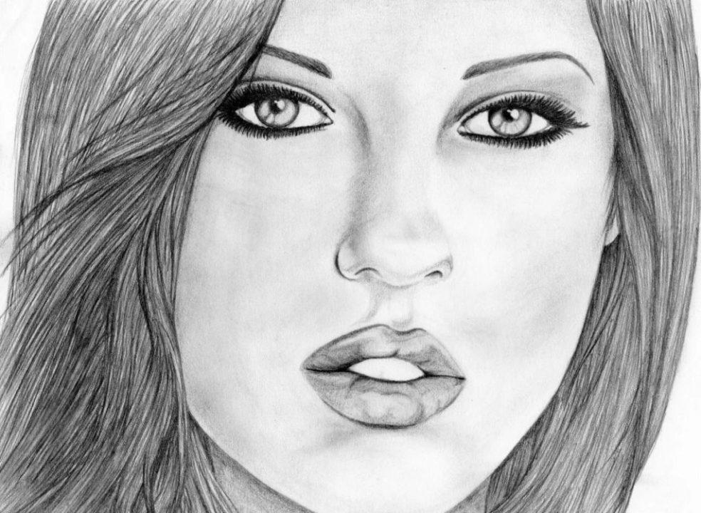 Как нарисовать девушку карандашом и не только. 175 картинок для срисовки