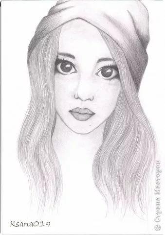 300 легких рисунков для срисовки для девочек