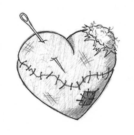 Как нарисовать сердечко. 85 рисунков