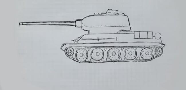 Как нарисовать танк карандашом и не только. 162 рисунка для срисовки
