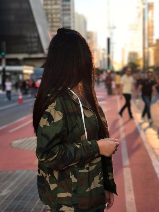 180 красивых фото девушек со спины (без лица)