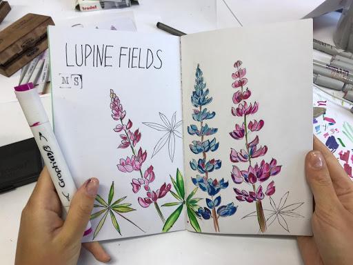 Что можно нарисовать фломастерами или маркерами. 180 легких рисунков для начинающих