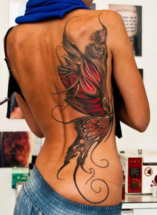 237 красивых женских татуировок