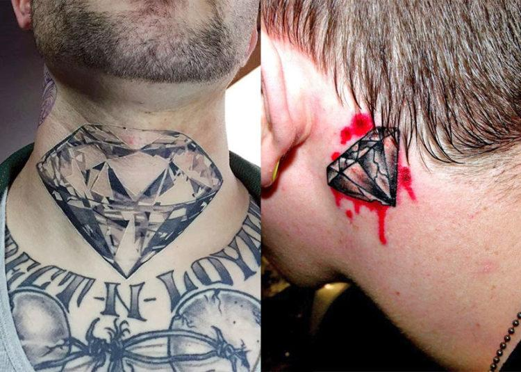 300 татуировок на шее для мужчин