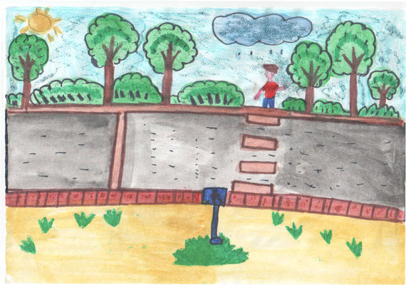 250 рисунков на тему «Правила дорожного движения» для детей