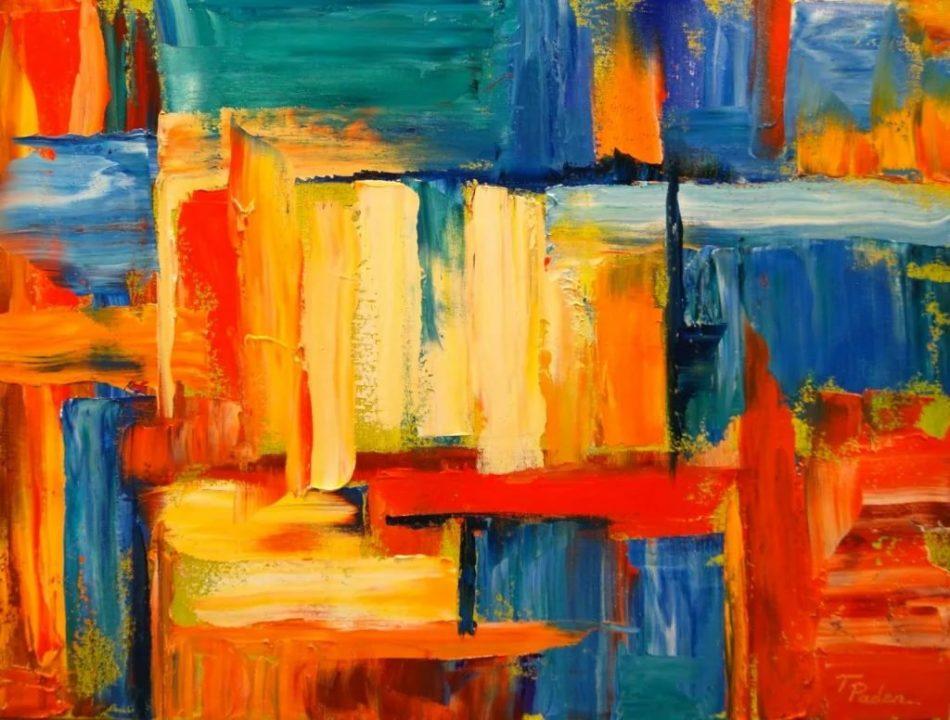 150 картин в абстракции