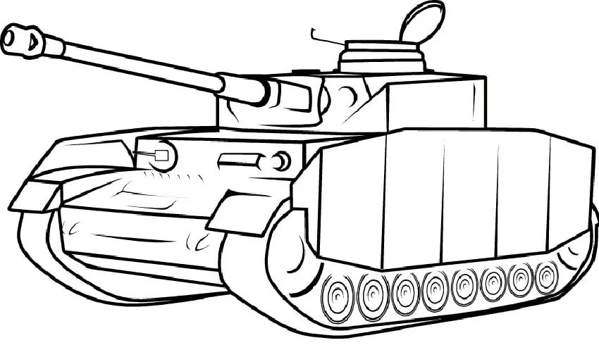 110 раскрасок с танками для распечатки