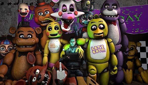 190 картинок с Fnaf аниматрониками