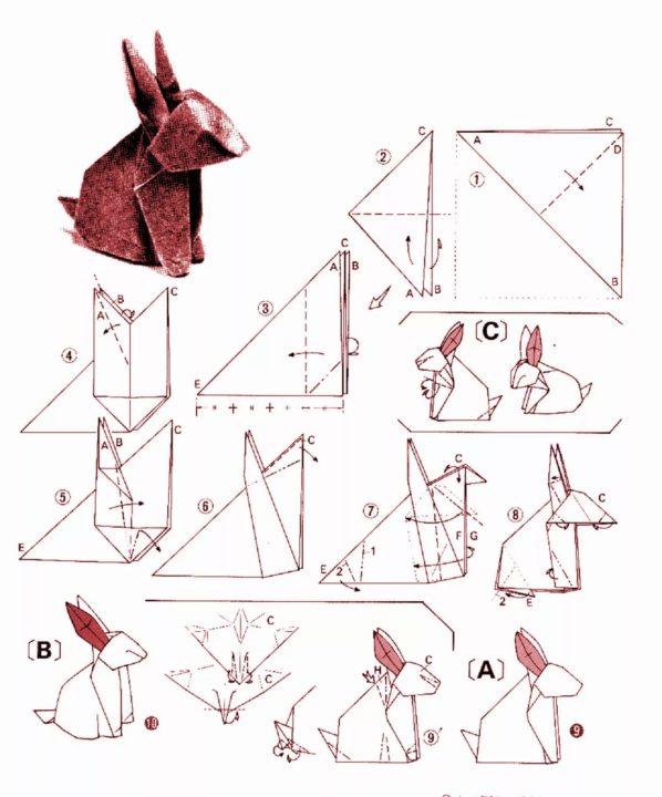 Оригами из бумаги для начинающих. 43 самых легких поделки