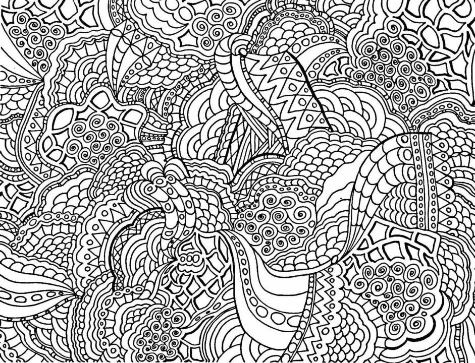 120 лучших раскрасок антистресс