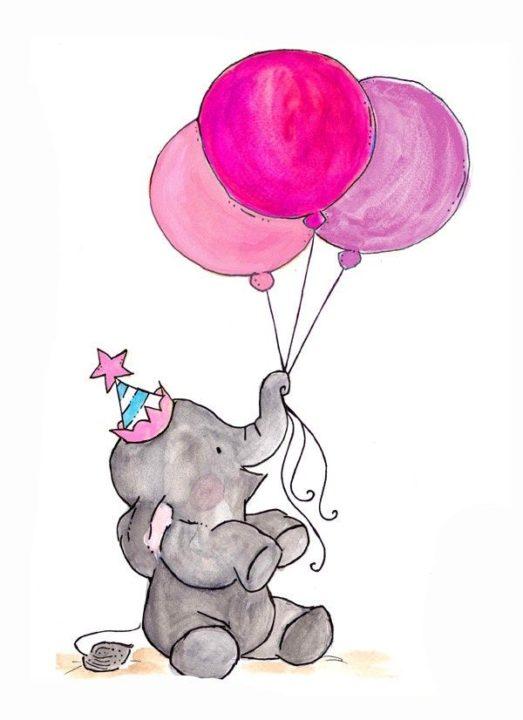 Что можно нарисовать на день рождения: 60 идей для рисунков