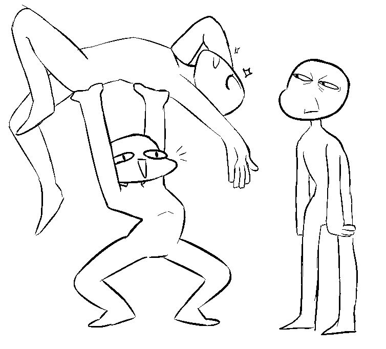 Позы человека для рисования. 39 картинок
