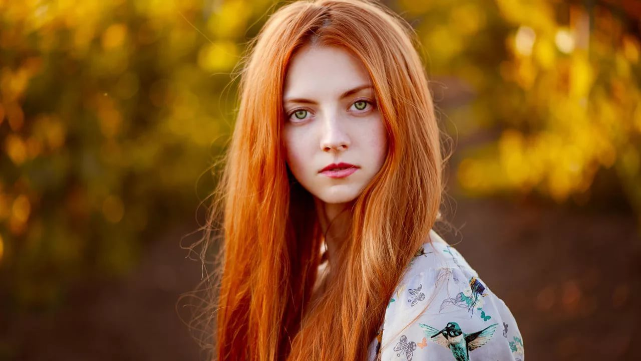 120 фото красивых рыжеволосых девушек