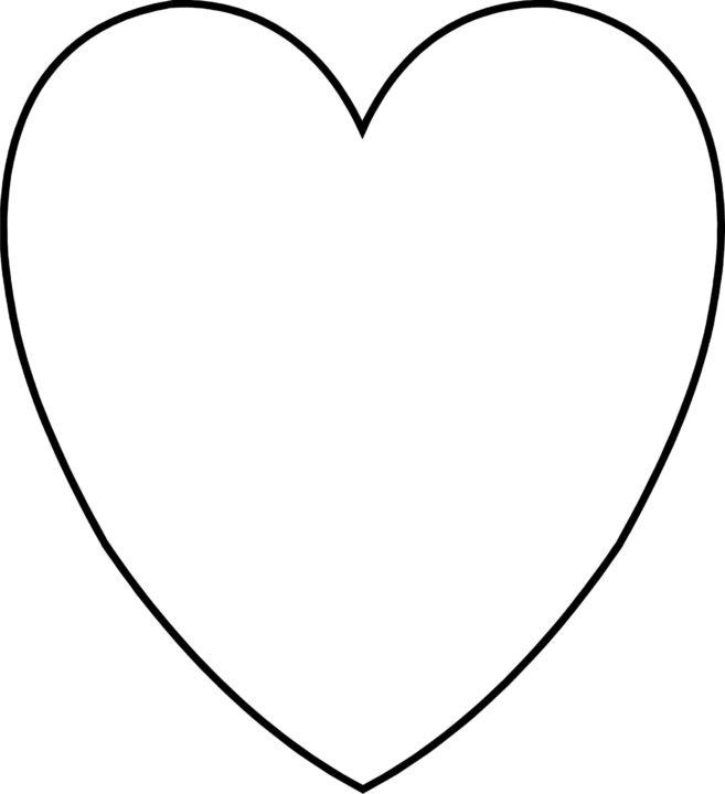 110 шаблонов сердечек для вырезания