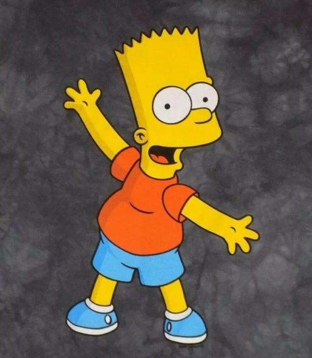 120 картинок с Бартом Симпсоном