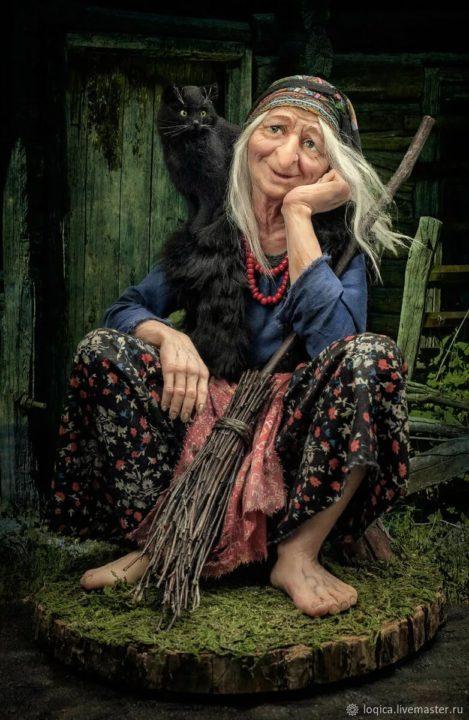 Баба яга: 110 фото, картинок и рисунков