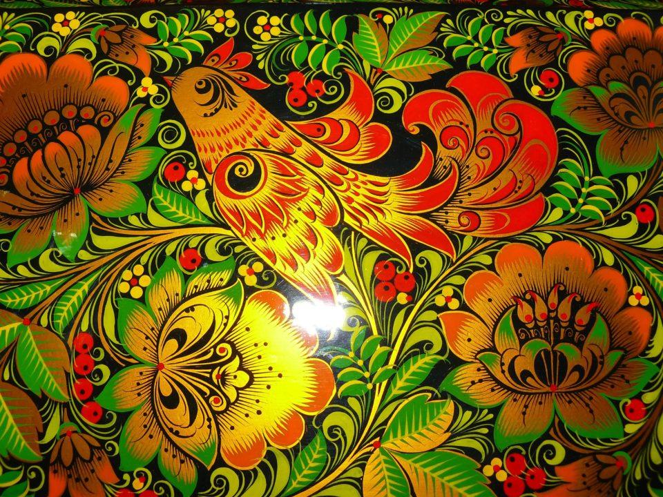 Хохломская роспись: 100 рисунков