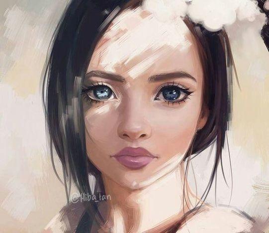 114 красивых картинок для девочек и с девочками