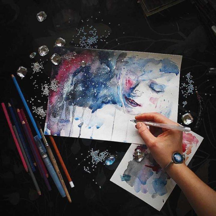 Что можно нарисовать гуашью. 146 легких рисунков