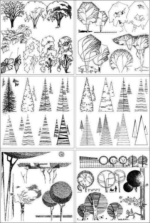 200 графических рисунков