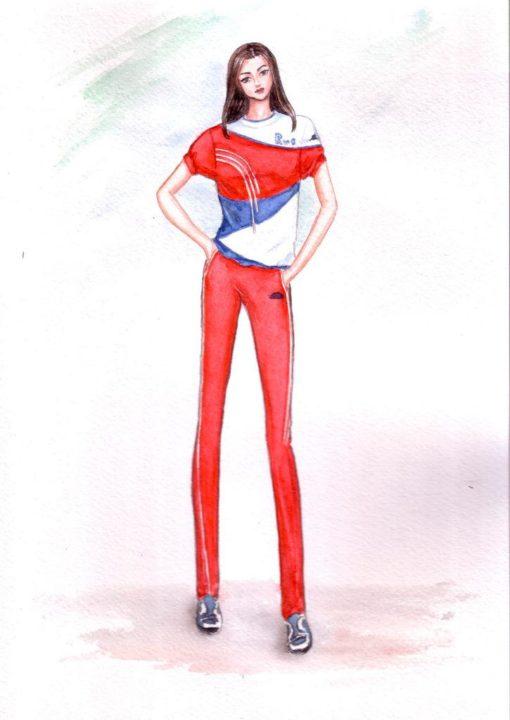 Как рисовать одежду. 218 рисунков карандашом и не только