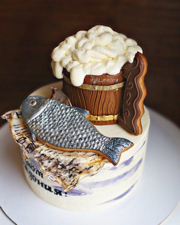 280 идей оформления торта для мужчины