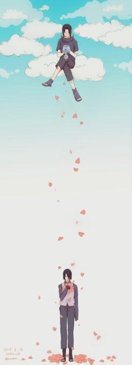 228 картинок Саске Учиха
