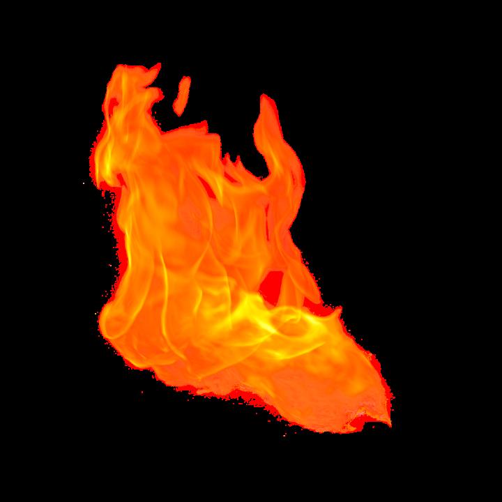110 картинок с огнем в PNG