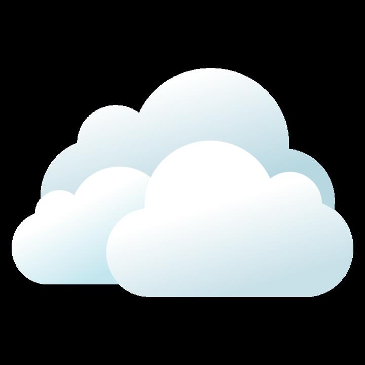100 облаков в PNG