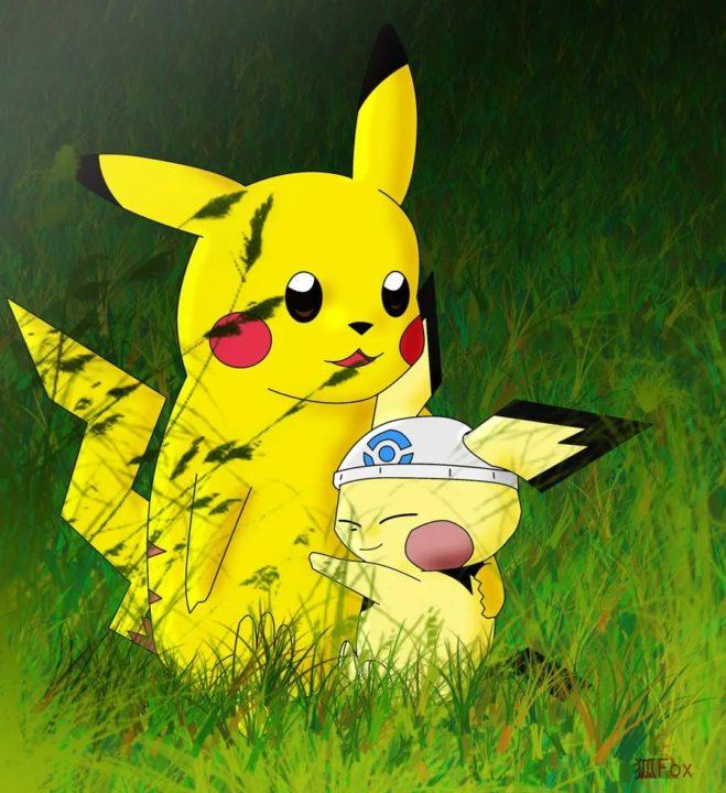 110 фоток с покемоном Пикачу