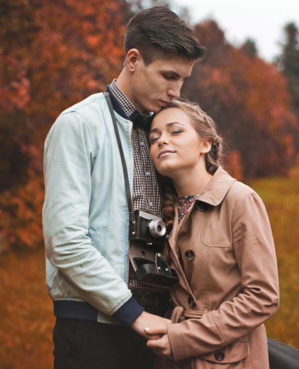 Красивые влюбленные пары (155 фото)