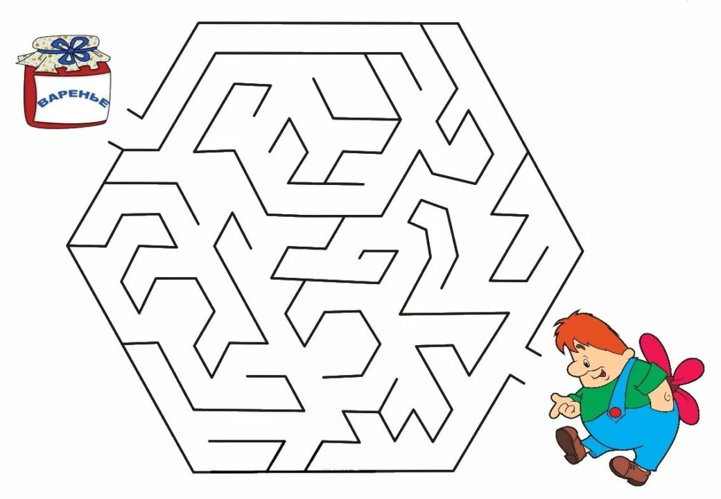60 лабиринтов для детей