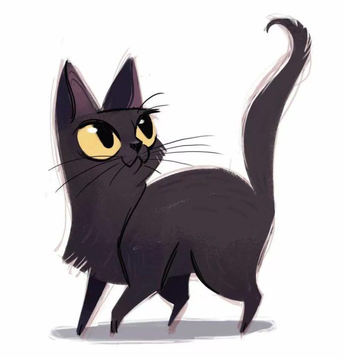 70 картинок с мультяшными котами