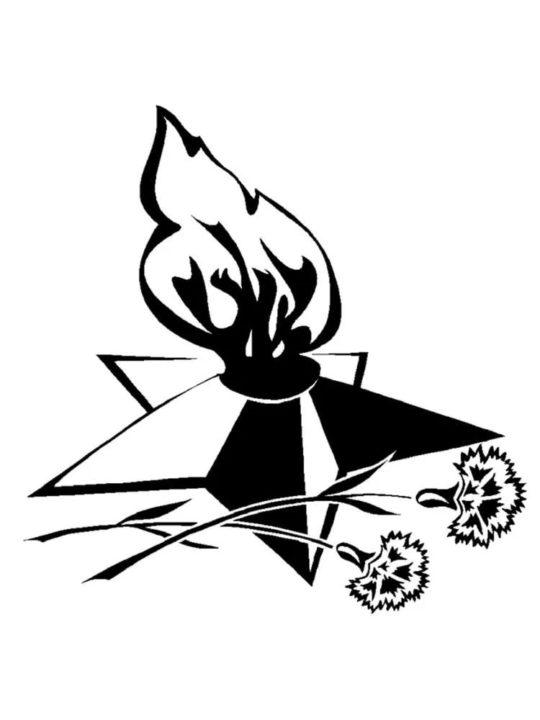 Вытынанки к 9 мая: шаблоны и схемы на окна