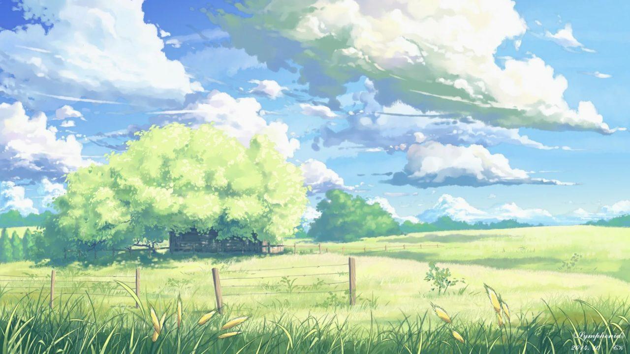 120 фонов аниме