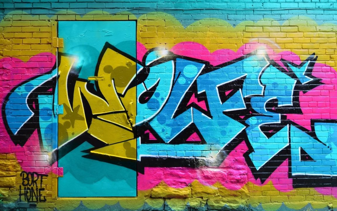 165 крутых граффити