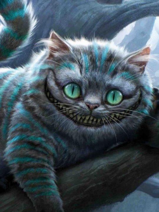 160 картинок с Чеширским Котом из Алисы в Стране Чудес