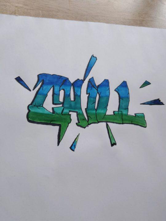 90 граффити для начинающиих