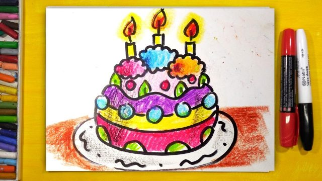 Что можно нарисовать маме на день рождения. 50 идей