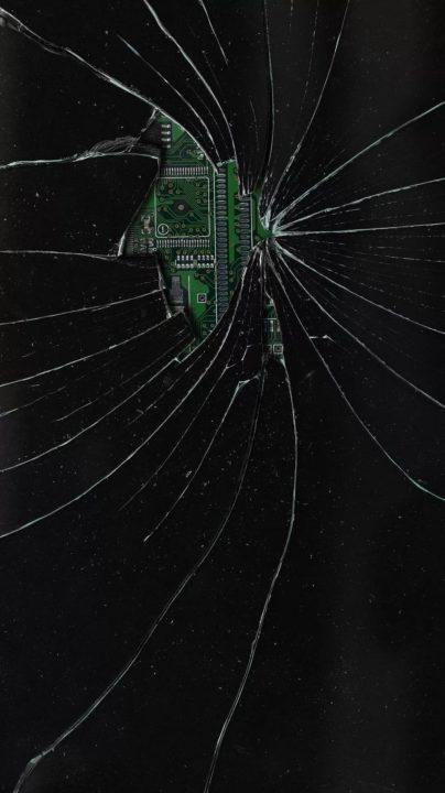 120 обоев с разбитым экраном для телефона